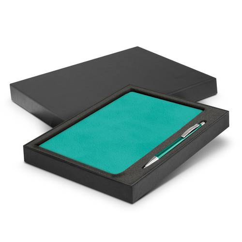 Demio Notebook and Pen Gift Set - 7 Colours