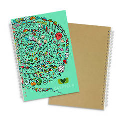 Lancia Full Colour Notebook - Medium