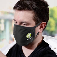 Reusable 3-ply Cotton Face Mask