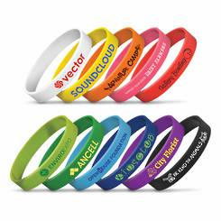 Silicone Wrist Bands - Great for Festivals & Events