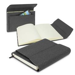 Stanford Notebook - Outstanding medium size notebook with front pocket