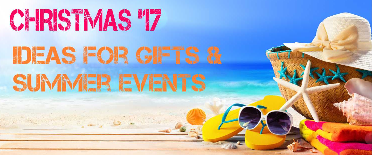 Ideas for Gifts & Summer Events