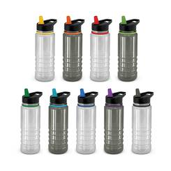 Triton Elite Drink Bottle - Clear & Black