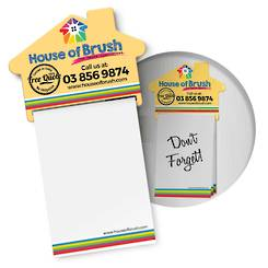 Magnetic House Memo Pad