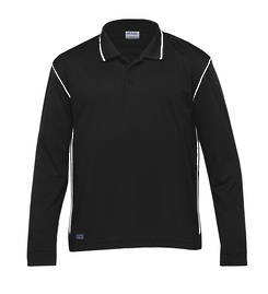 Long Sleeve Hype Polo - 3 Colours